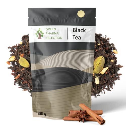 Té Negro Paquistaní Premium Canela, orgánico con a granel. 100gr 50 tazas. Reduce el estrés y ayuda con la digestión. Este té crea una industria justa y sostenible para agricultores
