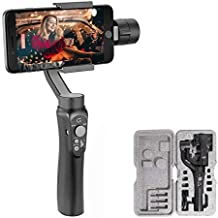 3-Axis Gimbal-Stabilizer-for-Smartphone, Powered by ZHIYUN-Gimbal for iPhone-Android Video Recording,Dolly Zoom, Timelapse, Panorama, CINEPEER C11