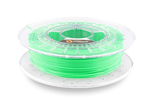 Fillamentum Flexfill 92A Luminous Green 2.85mm Filament Spool, Diameter Tolerance +/- 0.1mm, 500g
