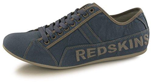 Redskins Tempo, Baskets Hommes, Bleu (Marine+Gun), 42...