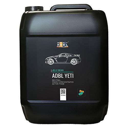 ADBL Snow Foam Shampoo Schaum Reinigungsschaum Aktivschaum pH-Neutral - 5 Duftnoten - in 3 Größen erhältlich … (Jelly Bean 5 Liter)
