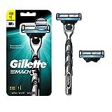 Gillette Mach3 Men's Razor Handle + 2 Blade Refills