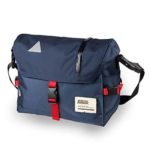 Herren Crossbody Messenger Bags Oxford wasserdichte Befreiungstasche Sling Shoulder Travel Bag Große Mountainbike-Fahrradtasche