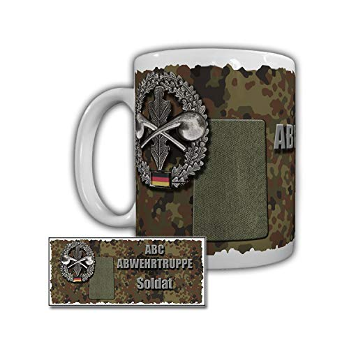 Tasse ABC Abwehrtruppe Soldat ABCAbwKdoBw Bruchsal Speidel Kaserne #29344
