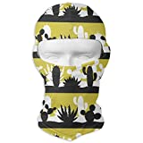 Sdltkhy Cactus Shades Black Men Women Balaclava Neck Hood Full Face Mask Hat Sunscreen Windproof Breathable Quick Drying Multicolor7