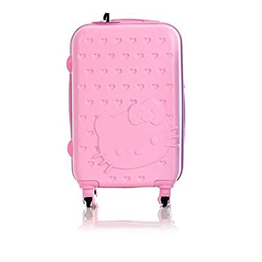 Hello Kitty Luggage 24 inch Spinner (Pink)