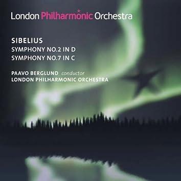 Sibelius, J.: Symphonies Nos. 2 and 7