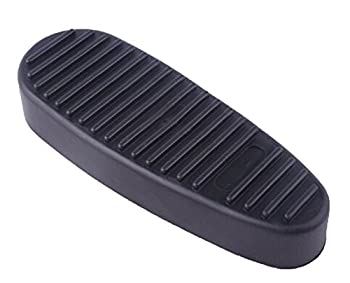 Tactical Scorpion Gear TSG-BP-AR6 Ribbed 6 Position Butt Stock Synthetic Rubber Butt Pad- Black