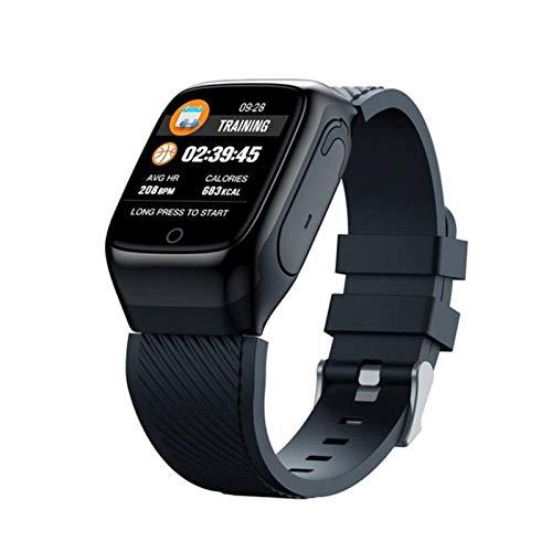 YYZ S300 Smart Watch Earbudos De Los Hombres Y Auriculares Los Deportes De Música Dos En Uno, Adecuados para Android iOS