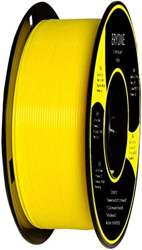 ERYONE PLA 3D Printer Filament 1 75mm Dimensional Accuracy 0 05 mm 1kg 2 2LBS Spool Yellow product image