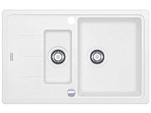 Franke Basis BFG 651–78Glacier FRAGRANITE lavello–Lavello da cucina bianco