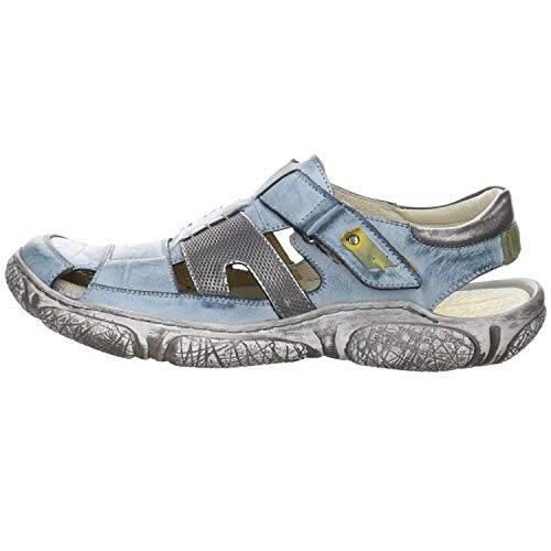 Krisbut Herren Sandalen Sandale blau Gr. 44