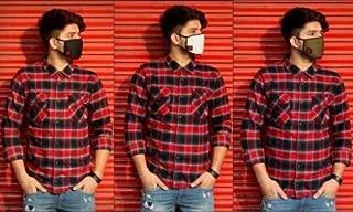 Oromask O1 Unisex Washable Cotton Face Mask (Multi, Pack of 3)