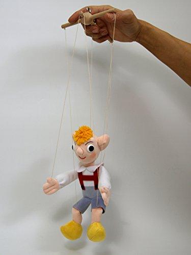 MUBRNO 18982B Hurvinek Marionette, Mehrfarbig