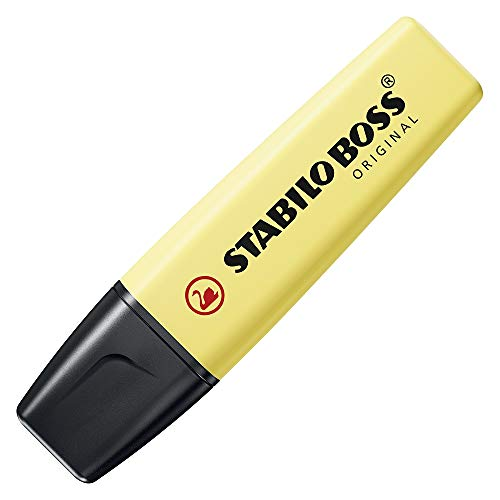 Stabilo Boss Original–Subrayador Pastel colores surtidos, Set de 6