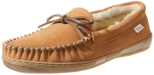 Tamarac by Slippers International 7161 Men's Camper Moccasin,Tan,8 M US