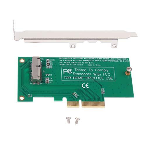 PETSOLA para Macbook 2013-2015 SSD a PCI-Express PCI-e 4X Convertidor