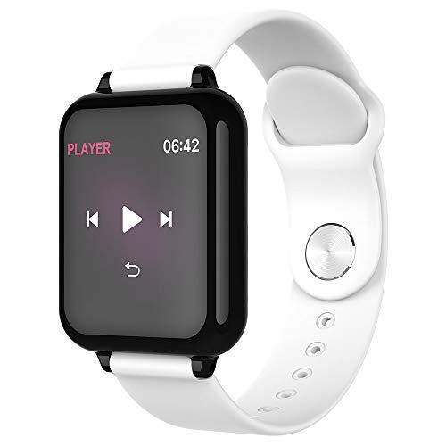MOLINB Slim horloge Smart watch Hartslag Bloeddrukmeting Oproep Bericht Waterdichte herinnering Fitness Tracker voor Apple Heren Dames