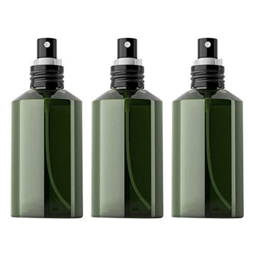 Minkissy 3Pcs Botella de Spray de Niebla Fina Pulverizador de Jabón Líquido a Prueba de Fugas Dispensador de Pulverizador de Aceite Cosmético Botella de Atomizador de Subenvasado (150 Ml)