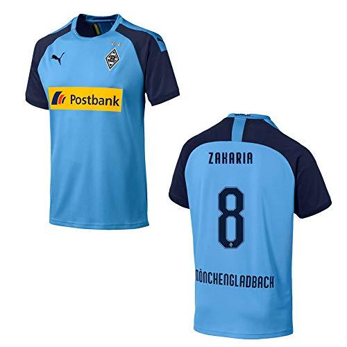 PUMA BMG Borussia MÖNCHENGLADBACH Trikot Away Kinder 2019/2020 - Zakaria 8, Größe:152