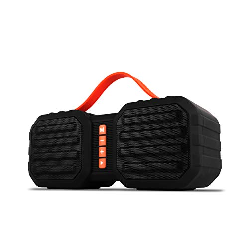 Zebronics Sound Feast 50 Portable Speaker Supporting Bluetooth, Pendrive Slot, mSD Card, FM, Call Function (Black)