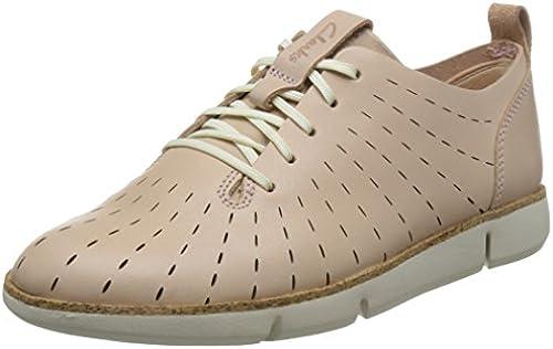 Clarks Schuhe für Damen 26132527 26132527 26132527 Tri Etch Nude Rosa Lea  billig und hochwertig