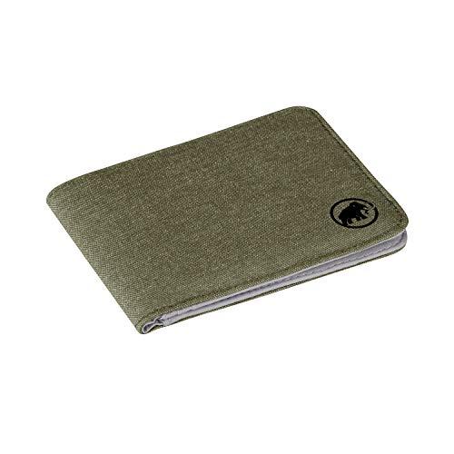 Mammut Flap Wallet Mélange Ausweistasche, 10 cm, Olive