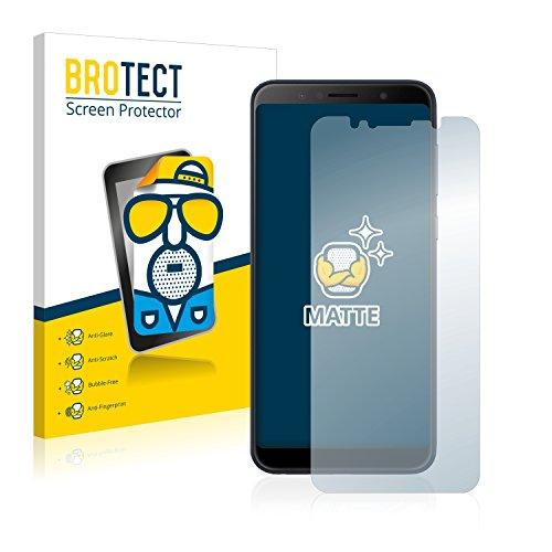 BROTECT 2X Entspiegelungs-Schutzfolie kompatibel mit Asus ZenFone Max Pro (M1) Bildschirmschutz-Folie Matt, Anti-Reflex, Anti-Fingerprint
