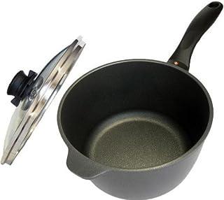 قدر ألومنيوم صلب مقاوم للالتصاق سعة 3.2 لتر مع قطعة من سويس دايموند