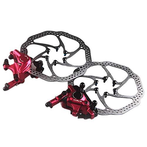 Pangyan990 Seilzug Mechanische Klemmbremse Zoom HB-100 Mit Umbausitz Mountainbike Fahrrad Hydraulische Scheibenbremse Vorne Hinten Ölscheibenbremse Gerät