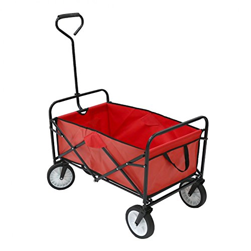 Collapsible Shopping cart Portable Shopping cart Aluminum Alloy Hand cart can Climb Stairs Hand cart Shopping Supplies FeiQiangQiang Hand cart Color : Black