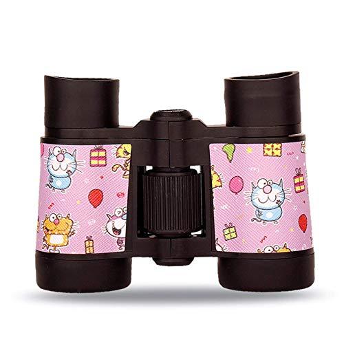 Kinder Fernglas Spielzeug Set, 4x30mm Kinder HD Teleskop Outdoor Adventure Exploration Spielzeug, Vogelbeobachtung Pädagogisches Lernen Wandern Birthday Geschenke for Kinder im Freien Spielzeug liucha