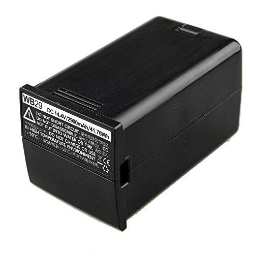Godox WB29 DC 14.4V 2900mAh 41.76Wh Lithium Battery Power Pack for Godox AD200 Flash