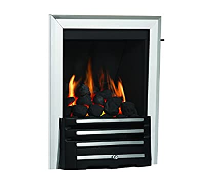 Be Modern Classic Axton Chrome/Black Multiflue Inset Gas Fire