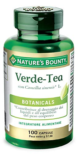 Nature's Bounty Green Tea Extract, 315mg, 100 Capsules by Nature's Bounty