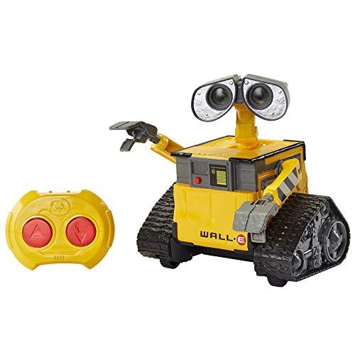 Mattel Disney Pixar Wall-E Hello con Controllo Remoto, Luci e Suoni, Giocattolo per Bambini 4+ Anni, GPN30