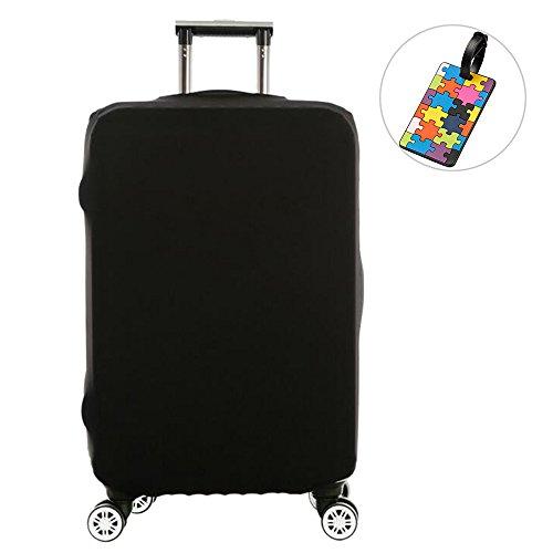 スーツケースカバー 伸縮素材 キャリーバッグカバー キャリーカバー スーツケース 防水 保護 luggage cover...