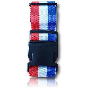 travelmode Luggage Straps Multicolour Frankreich-Farben