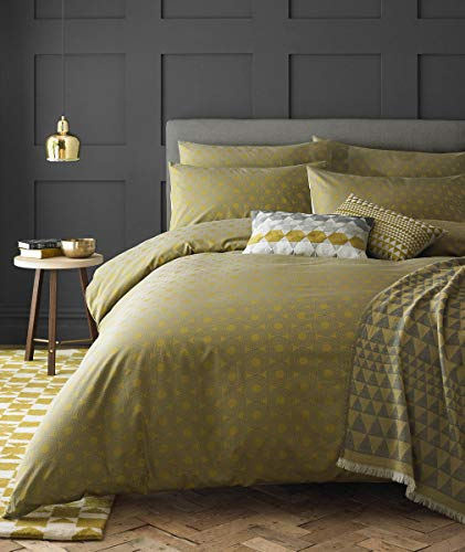 Niki Jones Designer CONCENTRIC Bedding Chartreuse Double