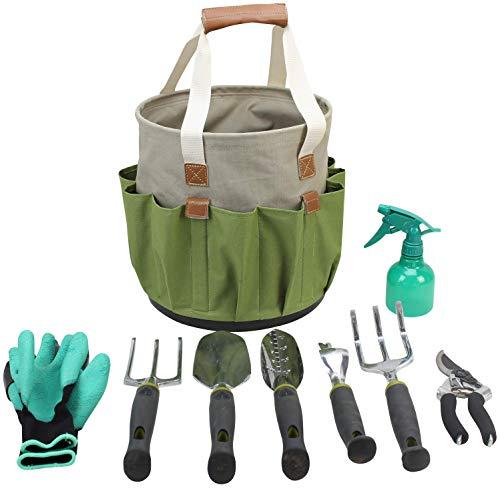 garden-tools-set-gardening-gifts-gardening-tools-set-9-piece-garden-tool-set-digging-claw-gardening-gloves-succulent-tool-set-planting-tools-gardening-supplies-basket-rake-gloves