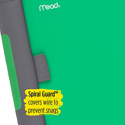 Five Star Advance Spiral Notebook, 5 Subject, College Ruled Paper, 200 Sheets, 11 x 8-1/2 inches, Green (73148) Photo #5