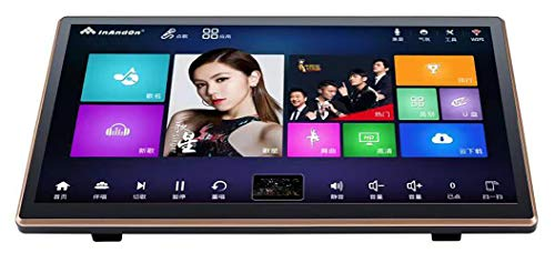 New Generation HiFine Karaoke Player KV-V3Pro 2 in 1 Machine with 4T Harddrive, 18.5Inch Touch Screen, Desktop Type, Easy to Carry, Cloud Song Update, Android System