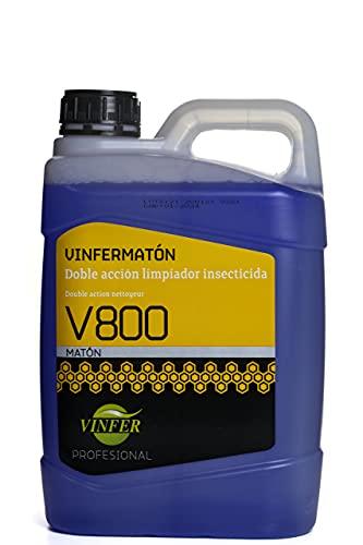 Vinfer Profesional - Insecticida Fregasuelos Doble Acción, 5 L