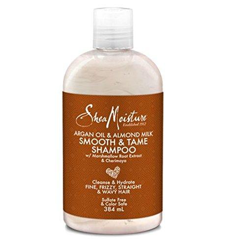 Shea Moisture Argan Oil & Almond Milk Smooth & Tame Shampoo 384ml