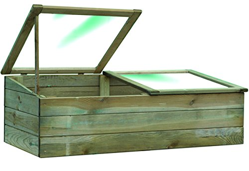Blinky 7972310invernaderos de madera con doble apertura