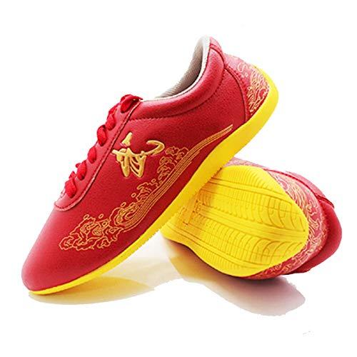 Zapatos de Artes Marciales, Zapatos De Taewondo De Artes Marciales Karate Kung Fu Tai Chi Boxing Sport Gym Sneakers para Hombres Mujeres Niños Niños Adolescente Adultos,C-38