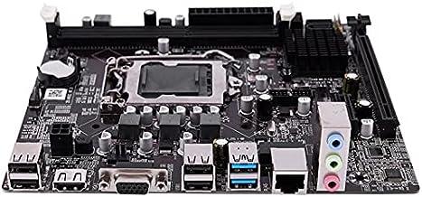CNmuca Placa-mãe B75 1155 pinos DDR3 Computador Placa-mãe de alto desempenho Placa-mãe meticulosa de acabamento preto
