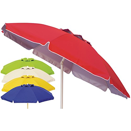 Parasol 200/8 broches Rouge