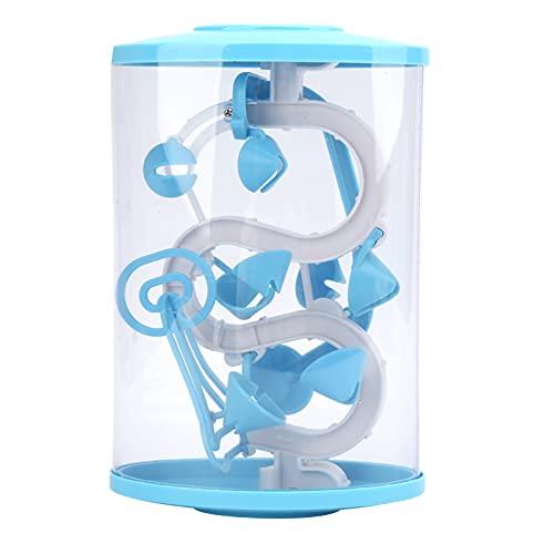 banapo Puzzle Maze Ball, Juego de Laberinto de Rompecabezas para niños 3D para Juego de Cerebro, Juguete para Regalo de niños(Azul)