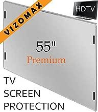 55 inch Vizomax TV Screen Protector for LCD, LED, OLED & QLED 4K HDTV